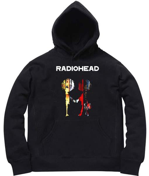 Unisex Premium Hoodies Radiohead Logo