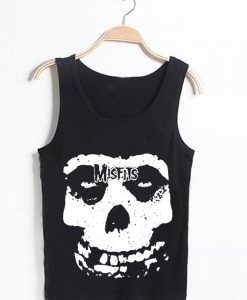 Unisex Men Women The Misfits Tanktop Tank Top