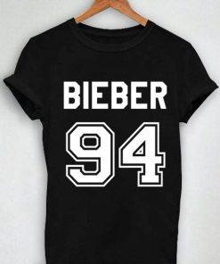 Unisex Premium Tshirt Bieber 94 Design Logo