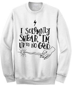 Unisex Crewneck Harry Potter Quotes White Sweatshirts Sweater