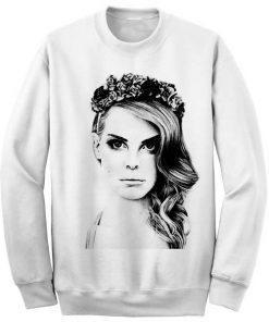 Unisex Crewneck Lana Del Rey Sweatshirts Sweater