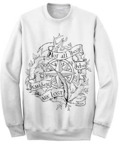 Unisex Crewneck Lord Of The Rings Sweatshirts Sweater