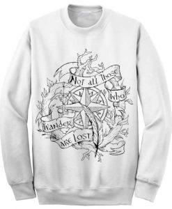 Unisex Crewneck Lord Of The Rings Sweatshirts Sweater