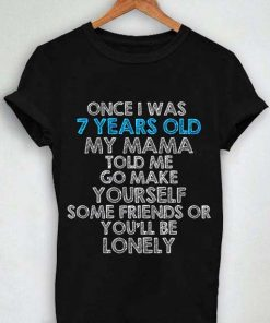Unisex Premium Tshirt Lukas Graham 7 Years Lyric