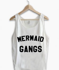 Unisex Men Women Mermaid Gangs Tanktop Tank Top