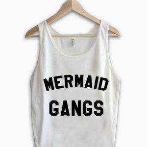 Unisex Men Women Mermaid Gangs Tanktop Tank Top