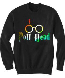 Unisex Crewneck Pott Head Sweatshirts Sweater