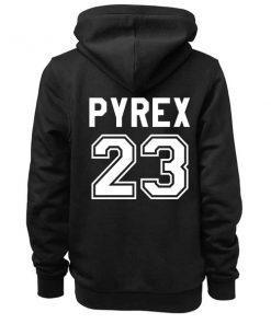 Unisex Premium Pyrex 23 Logo Hoodie