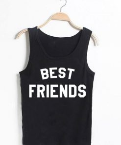 Unisex Men Women Best Friends Tanktop Tank Top