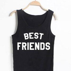 Unisex Men Women Best Friends Tanktop Tank Top