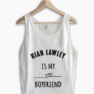 Unisex Men Women Kian Lawley Is My Boy Friend Tanktop Tank Top