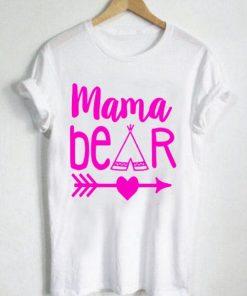Unisex Premium Tshirt Mama Bear Cute