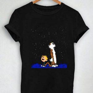 Unisex Premium Tshirt Stargazing Calvin Firefly