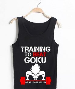 Unisex Men Women Training To Beat Goku Tanktop Tank Top