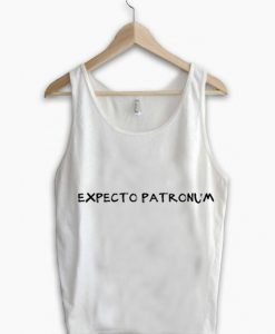 Unisex Men Women Expecto Patronum Simple Tanktop Tank Top