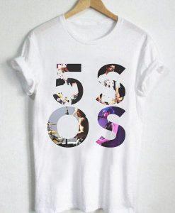 Unisex Premium 5sos T Shirts Logo Design Clothfusion