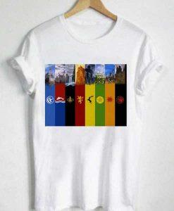 Unisex Premium All Houses Of GOT T shirt Design Clothfusion