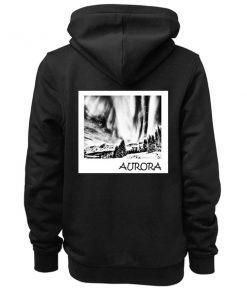 Aurora Borealis Adult Fashion Hoodie Apparel Clothfusion