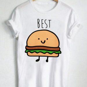 Unisex Premium Best Friends Hamburger And Fries 1 T shirt Design