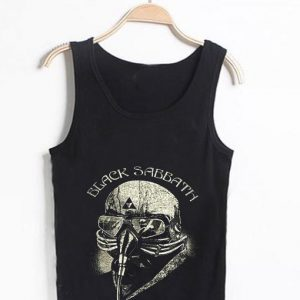 Unisex Men Women Black Sabbath Logo Tanktop Tank Top
