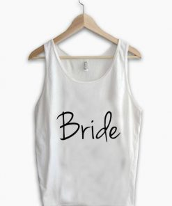 Unisex Men Women Bride Logo Simple Tanktop Tank Top