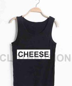 Unisex Men Women Cheese Logo Tanktop Tank Top