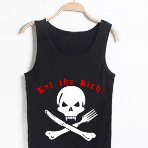 Unisex Men Women Eat The Rich Tanktop Tank Top