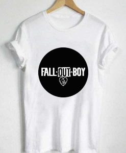 Unisex Premium Fall Out Boy Circle Logo T shirt Design Clothfusion