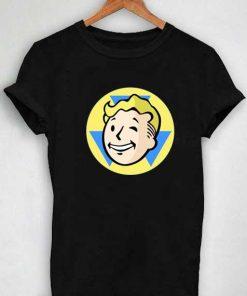 Unisex Premium Fallout Shelter Logo T shirt Design Clothfusion