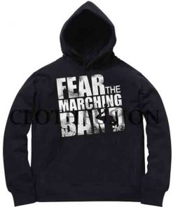 Fear The Machine Band Adult Fashion Hoodie Apparel Clothfusion