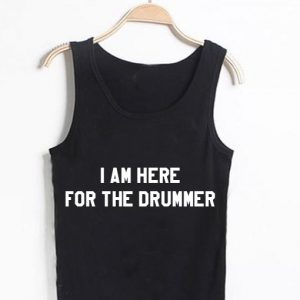 Unisex Men Women For The Drummer Tanktop Tank Top