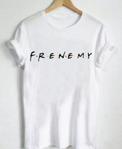 Unisex Premium Frenemy Friends Logo T shirt Design