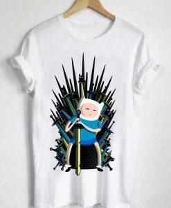 Unisex Premium Game Of Thrones Adventure Time T shirt