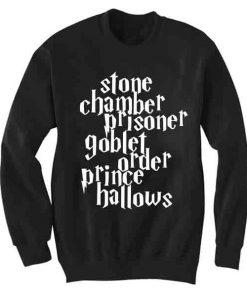Unisex Crewneck Sweatshirt Harry Potter Logo Quotes Design