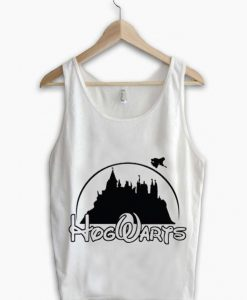 Unisex Men Women Hogwarts Logo Disney Tanktop Tank Top