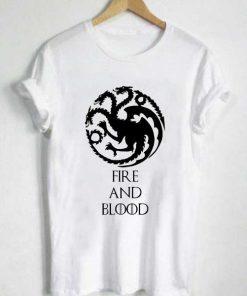 Unisex Premium House Of Targaryen T shirt Design Clothfusion