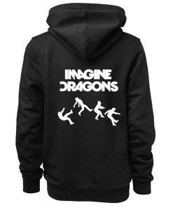 Imagine Dragons Logo Adult Fashion Hoodie Apparel