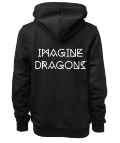 Imagine Dragons Text Logo Adult Fashion Hoodie Apparel