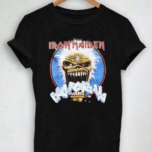 Unisex Premium Iron Maiden Black T shirt Design Clothfusion