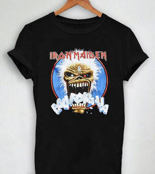 6785d3c9 Unisex Premium Iron Maiden Black T shirt Design Clothfusion