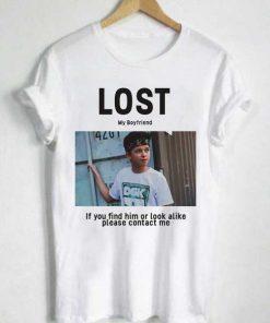Unisex Premium Jacob Sartorius Lost T shirt Design Clothfusion