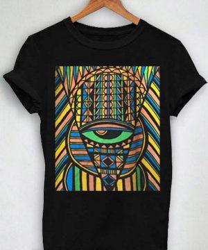 Unisex Premium King Tut Black T shirt Design Clothfusion