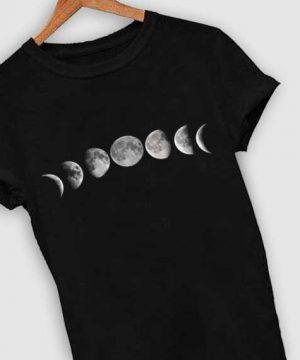 Unisex Premium Moon Phase T shirt Design Clothfusion