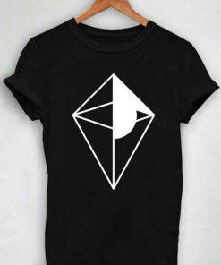Unisex Premium No Man's Sky Logo Black And White T shirt Design