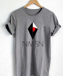 Unisex Premium No Man's Sky Logo Grey T shirt Design