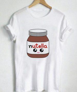 Unisex Premium Nutella Jar Kawaii T shirt Design Clothfusion