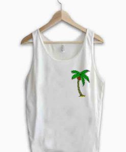Unisex Men Women Palm Tree Logo Tanktop Tank Top