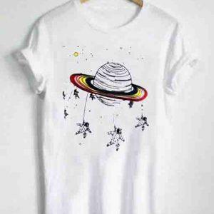 Unisex Premium Planetary Cute T shirt Design Clothfusion