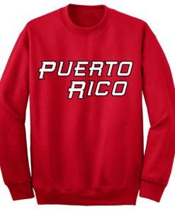 Unisex Crewneck Sweatshirt Puerto Rico Logo Design Clothfusion