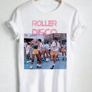 Unisex Premium Roller Disco Retro Style T shirt Design Clothfusion